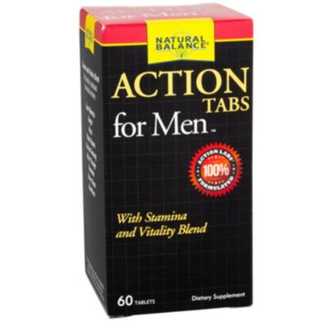 Action Tabs For Men (60 Tablets) by Natural Balance at the Vitamin Shoppe