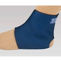 FLA Orthopedics 40-701SMBLK Safe - T - Sport Neoprene Ankle Support Black Small