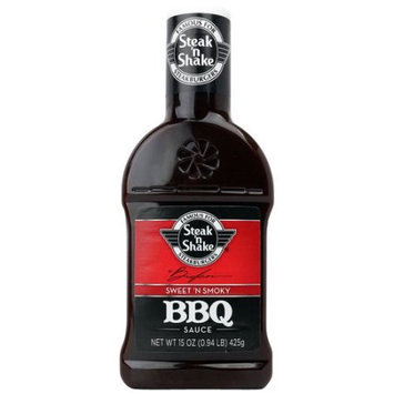 Steak 'N Shake Sweet 'N Smoky BBQ Sauce, 15 oz