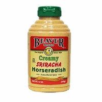 Beaver BWA66943 6 x 12 oz Creamy Sriracha Horseradish