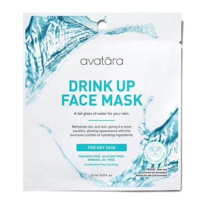 Avatara Drink Up Face Mask