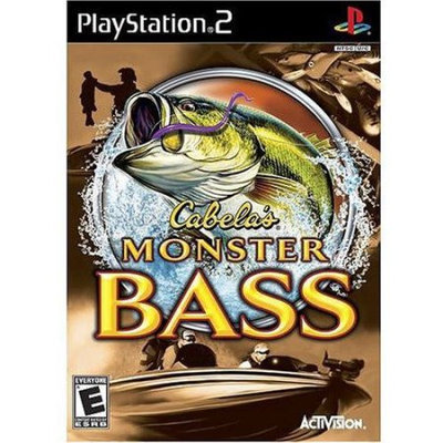 Activision Cabelas Monster Bass - Playstation 2 (activision 75505)