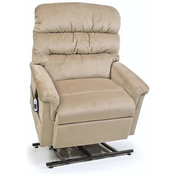 Montage Collection UC542-ME6 Large Wide Lift Chair Recliner - Oatmeal (curbside delivery)