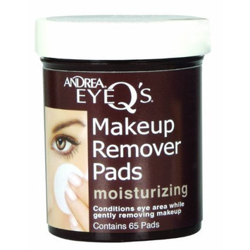 Andrea Eye Q's Moisturizing Eye Make-up Remover Pads