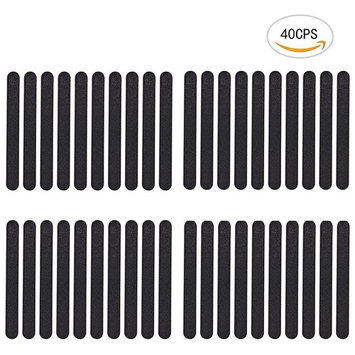 40PCS Nextnol Double Sided 100/180 Grit Nail Washable Buffering Files