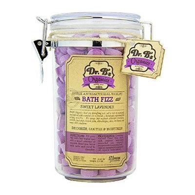 Dr. B's Organics Bath Fizz Tablets (Sweet Lavender)