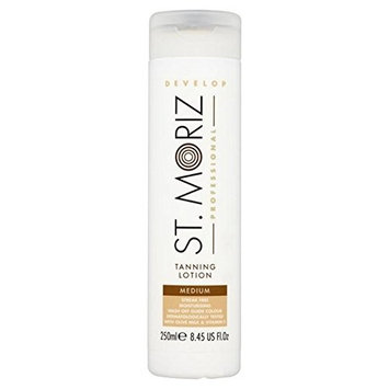 St. Moriz Professional Self Tan Lotion Medium 250ml (PACK OF 6)
