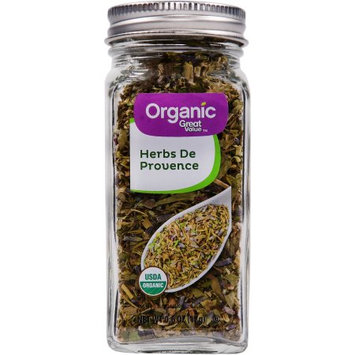 Great Value Organic Herbs de Provence, 0.6 Oz. Bottle