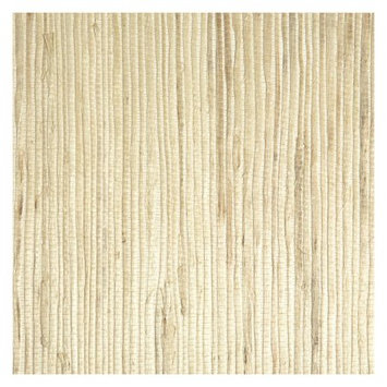 Wallpops Unpasted Grass Cloth Wallpaper - Beige