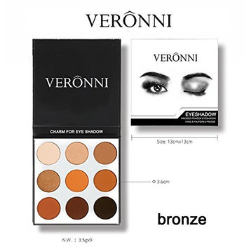 VERONNI 9 color Shimmer Matte Desert Dusk Tutorial Palette Makeup Eye shadow(Pack of 36)