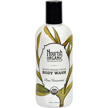 2 Packs of Nourish Organic Body Wash - Pure Unscented - 10 Oz