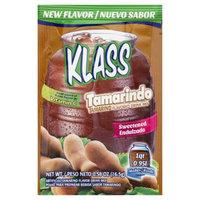 Klass 136417 0.58 oz. Sweetened Drink Mix Tamarind