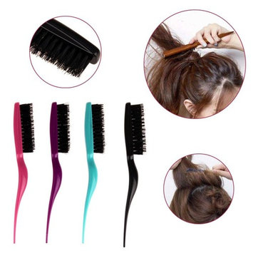 Baomabao 1pc Beauty Makeup Modeling Comb Fight Combs Brush Plate Hair for Women Salon