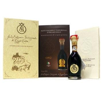 Acetum Traditional Balsamic Vinegar Di Reggio Emilia, Oro (Gold) 25 Years+ DOP, 100 ml by Fini