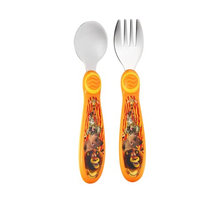 The First Years Madagascar Easy Grasp Scuplted Flatware