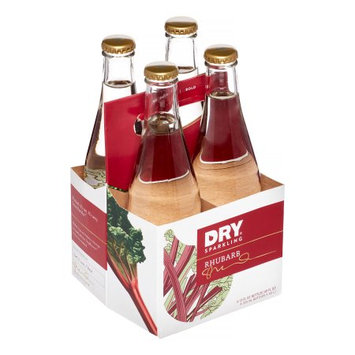 Dry Soda, Rhubarb, 4/12 oz (pack of 6 )