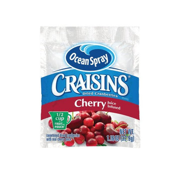 Craisins Ocean Spray Dried Cranberries, Cherry, 1.16 Ounce (Pack of 200)