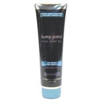 Bump Patrol Cool Shave Gel with Menthol for Sensitive Skin (4 oz) (4oz, Pack of 6)