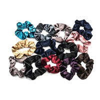 Gleam-N-Shine Elastic Scrunchies Velvet Hair Scrunchie soft Hair Ties Hair Bands for Women Elegant Hair Accessories scrunchy bobble (13 Pack)
