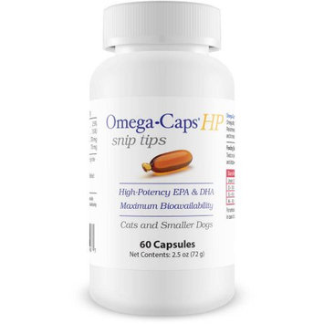 OmegaCapstrade; HP Snip Tips for Small Dogs Cats (60 Caps)