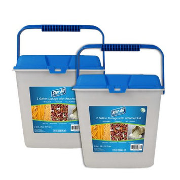 Food Storage Container Set Stor-All Solutions Clear Blue