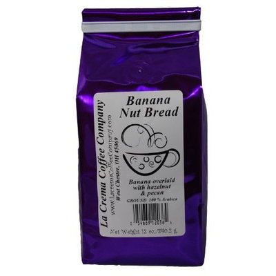 La Crema Coffee Banana Nut, 12-Ounce Packages (Pack of 2)