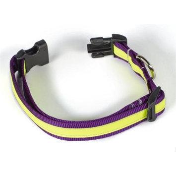 Starline Global Petflect Purple/Yellow Reflective AdventurePlay Collar
