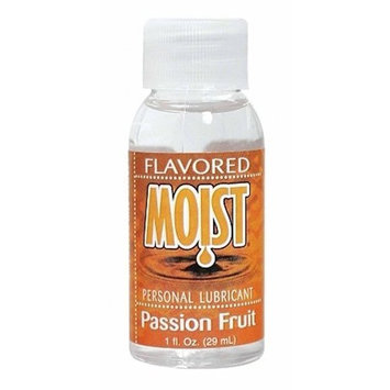 Moist Flavored Lubricant Passion Fruit, 1 Ounce