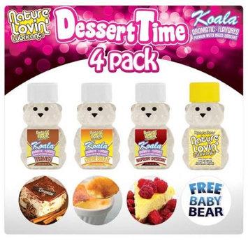 Honey Lube Dessert Time 4 Pack Lubricants