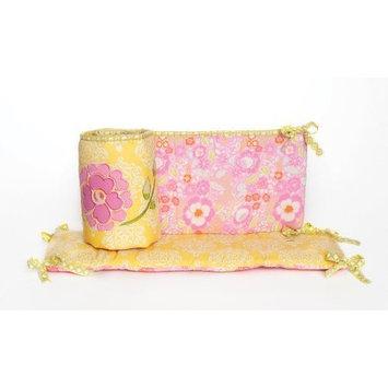 Dena Bali Blossom All Around Crib Bumper (Discontinued by Manufacturer)