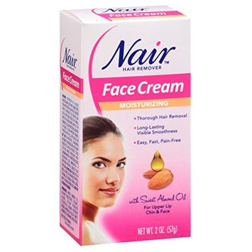 Nair Hair Remover Cream for Face-2 oz, 2 pk by Nair