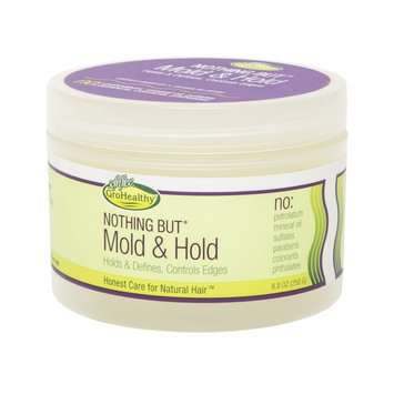 Nothing But Mold & Hold Wax Gro Healthy Hair Care Flake-free 8.8 oz Pack of 2