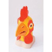 Chicken Overhead Mask Farm Animal Rooster Food Fancy Dress Cosplay