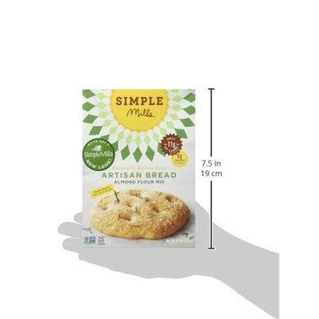 Simple Mills Almond Flour Mix, Artisan Bread, 10.4 oz, 3 count [Artisan Bread Mix]