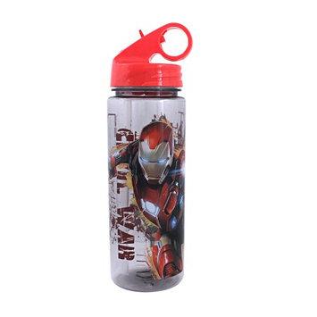Silver Buffalo, Llc Civil War Team Iron Man 20oz. Tritan Water Bottle