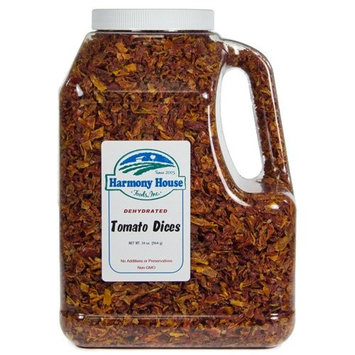 Harmony House Foods, Dehydrated Tomatoes (34 oz, Gallon Size Jug)