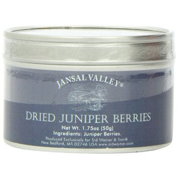 Jansal Valley Dried Juniper Berries, 1.75 Ounce