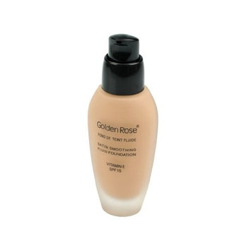 Golden Rose Satin Smoothing Fluid Foundation 21