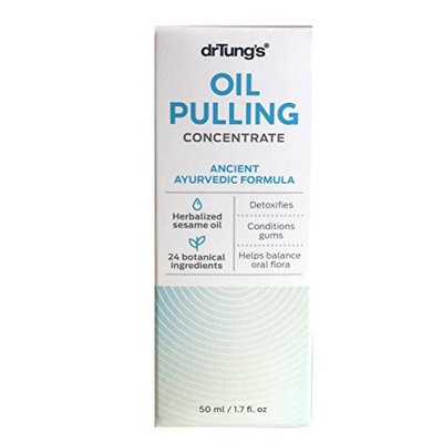 Dr. Tungs 230638 Oral Care Oil Pulling Concentrate - 1.7 fl. oz