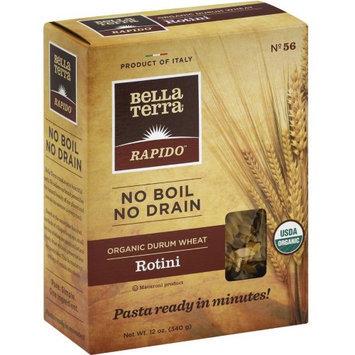 BELLA TERRA 270382 12 oz. Organic Pasta Rotini No Boil