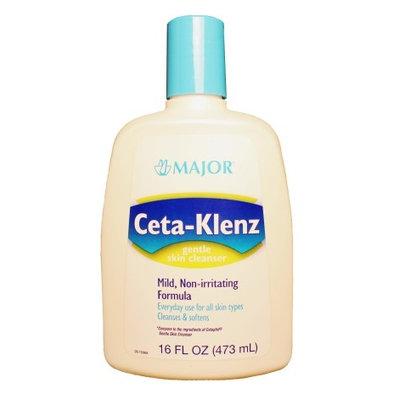 Ceta-Klenz Unscented Facial Cleanser Liquid 16 oz. Bottle