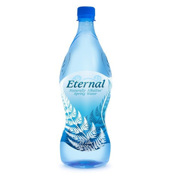 Eternal Water, Naturally Alkaline Mineral Spring Water From The Shasta-Trinity Alps, USA. 1.5 L (50.7 oz) 12 Bottles