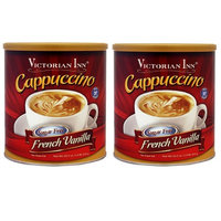 Victorian Inn Instant Cappuccino, Sugar Free French Vanilla, 1.4 Pound (2 pack) : Grocery & Gourmet Food