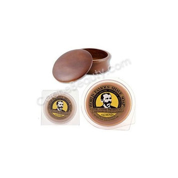 Almond Shave Soaps And Kingsley Shave Bowl Dark Wood