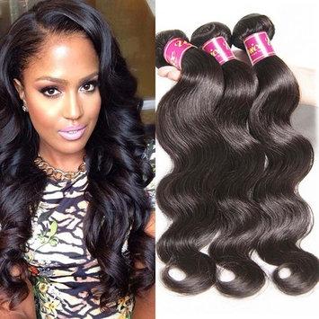 UNice Hair 22 24 26inch Brazilian Virgin Human Hair Weave 3 Bundles Deal Brazilian Body Wave Hair Weft Extensions Natural Color