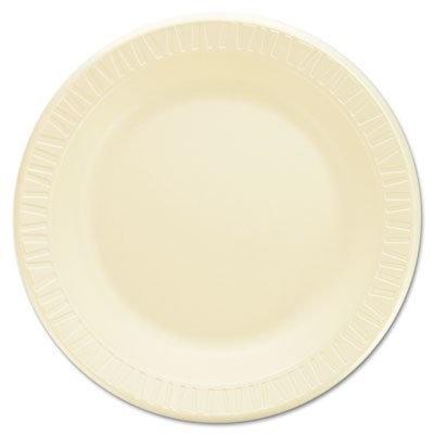 Dart Container Foam Plates Honey Laminated, 10 1/4