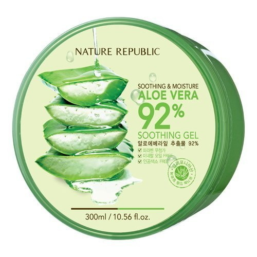 NATURE REPUBLIC Aloe Vera 92% Soothing Gel Case of 12 Pieces