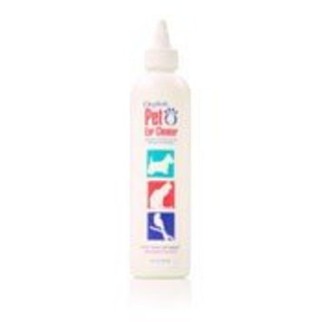 Oxyfresh Advanced Pet Ear Cleaner with Oxygene by, 8 oz. - Gentle and Safe - No Rinsing Required - Non-Irritating - Fresh Clean Ears - Made in the USA