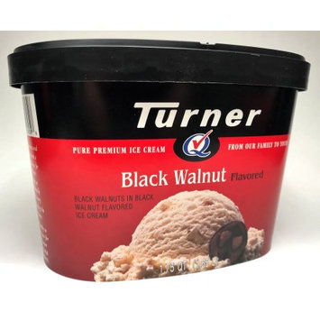 Turner Dairies Inc. Turner Black Walnut Ice Cream 56oz