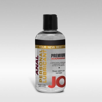 JO Premium Silicone Anal Lubricant - Warming ( 2 oz )